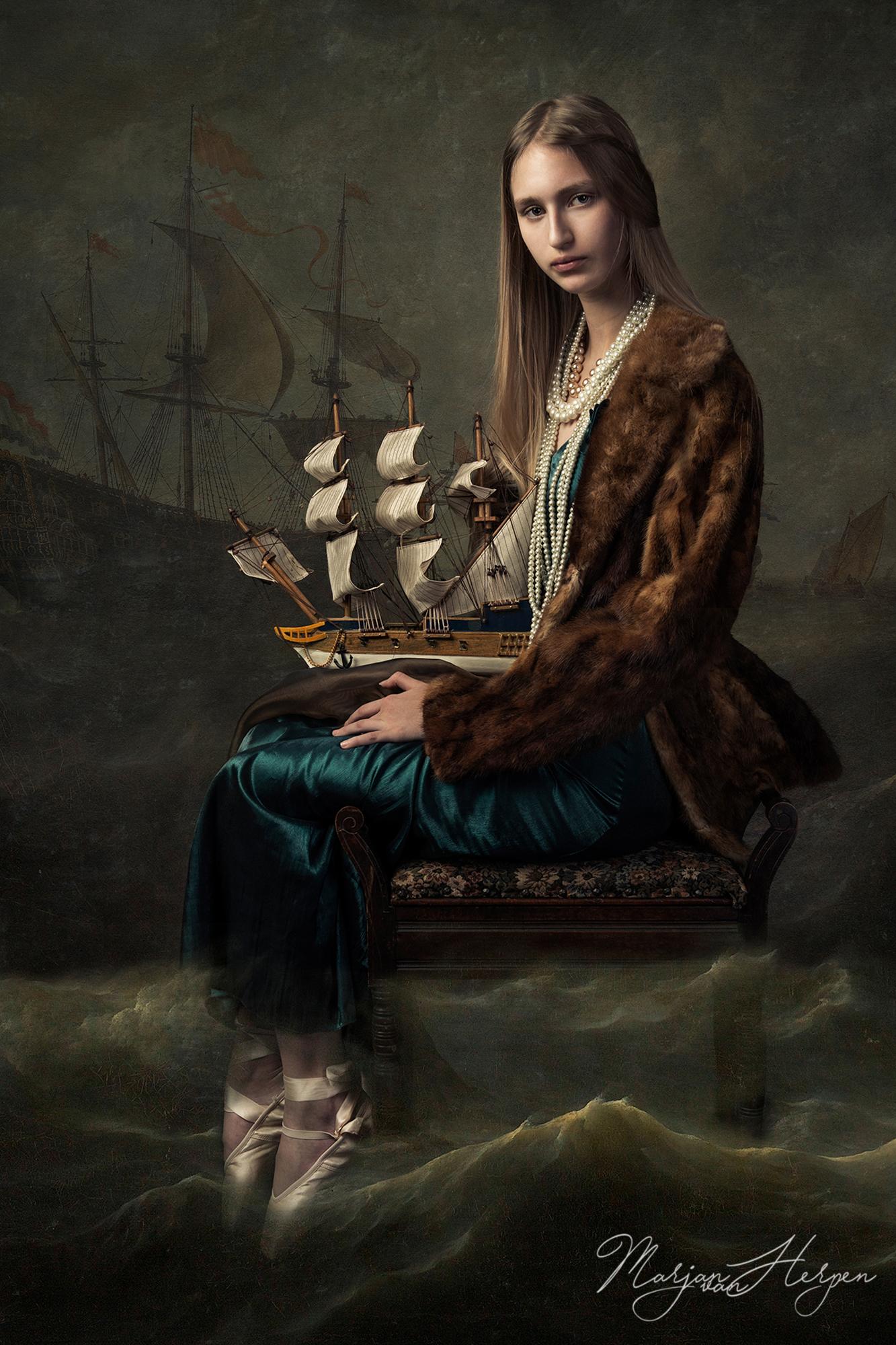 Kinderportret gemaakt voor een serie